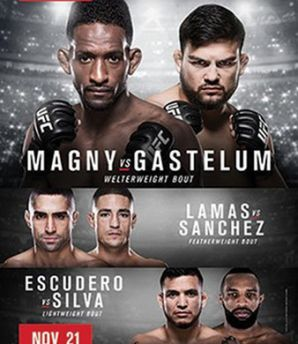 UFC Fight Night 78 Gastelum vs Magny: Monterrey, 21/11/2015