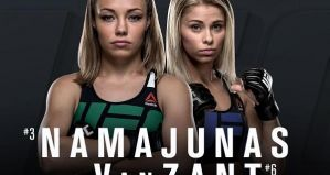 UFC Fight Night 80 Las Vegas: Namajunas vs VanZant: 10/12/2015
