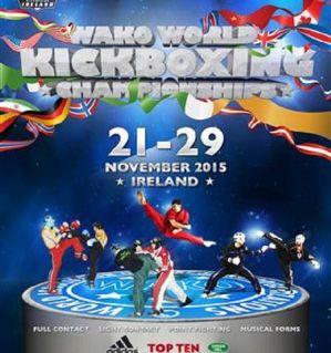 Mistrzostwa Świata w Kickboxingu WAKO Dublin 2015: wyniki Polaków 25-27.11!