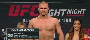Damian Grabowski poza UFC