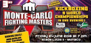 9 walk o pasy mistrzów świata na gali Monte-Carlo Fighting Masters!