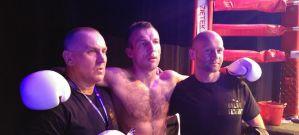 Radosław Rydzewski po walce na gali East Side Fight 2