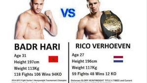 Badr Hari vs Rico Verhoeven za 800 tys. euro!