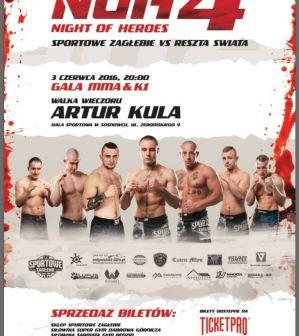 Night of Heroes 4: Sosnowiec, 03/06/2016