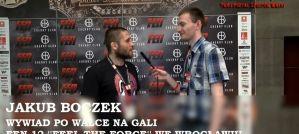 Jakub Boczek po walce na gali FEN 12! Wywiad!
