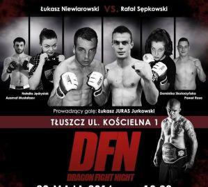 Dragon Fight Night 28 maja w Tłuszczu