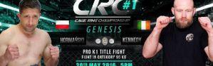 CRC#1: Zbigniew Hormański zdobywa pas K-1 Rules na Cage Ring Championship! Wyniki