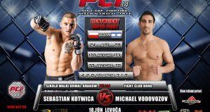Trzy zwycięstwa zawodników Szkoły Walki Drwala na Pit Cage Fighting 14 na Słowacji!