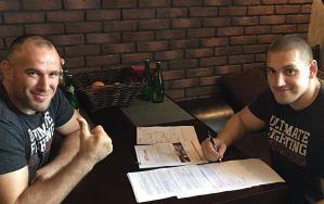 Dmitriy Sosnovskiy podpisał kontrakt z UFC