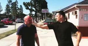 Tako rzecze Dana White: ''Chciałem, żeby Nate Diaz uderzył mnie w twarz!'''