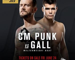 "UFC 203: Phil ""CM Punk"" Brooks vs Mickey Gall"