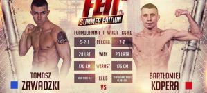 Bartłomiej Kopera i Tomasz Zawadzki zmierzą się na gali FEN 13 Summer Edition