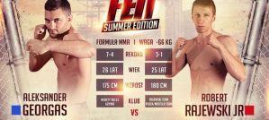 Robert Rajewski zmierzy się z Aleksandrem Georgasem na gali FEN 13 w Gdyni