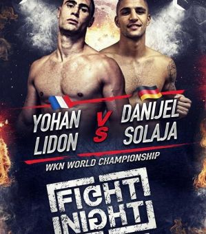 Fight Night Saint-Tropez 4: Yohan Lidon vs. Danijel Solaja o pas WKN i pozostałe walki