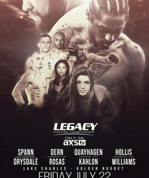 Legacy FC 58: Robert Drysdale mistrzem w wadze półciężkiej, Mackenzie Dern udanie debiutuje w MMA - Wyniki!