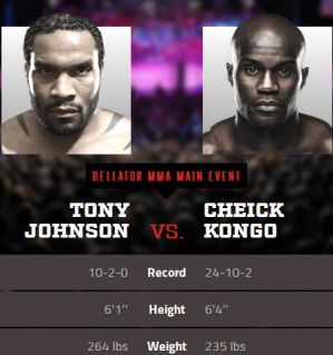 Jenkins vs Karakhanyan na Bellator 160 i Kongo vs Johnson na Bellator 161