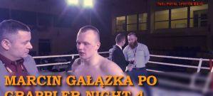 Marcin Gałązka po walce na gali Grappler Night 4! Wywiad!