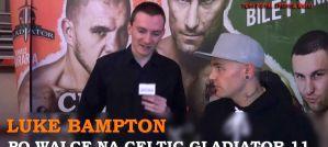 Luke Bampton po walce na gali Celtic Gladiator 11! Wywiad!