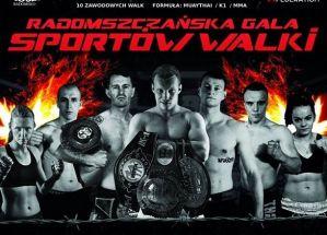 Radomszczańska Gala Sportów Walki z udziałem krajowej czołówki