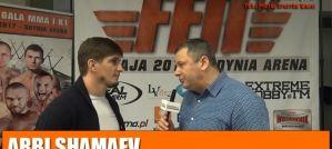 Arbi Shamaev: Chciałbym walczyć z Victorem Marinho o pas FEN! Wywiad!