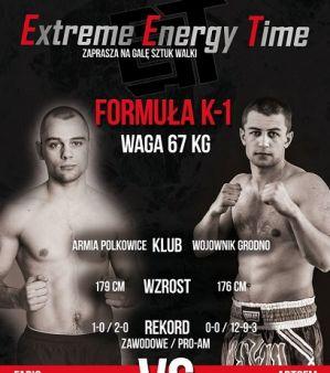 Pojedynek Fabio Di Lalla vs. Artsem Busarau kompletuje kartę walk Extreme Energy Time!