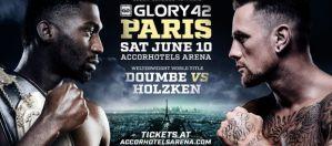 Cedric Doumbe vs. Nieky Holzken 2 o pas na GLORY 42 w Paryżu!