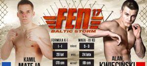 Alan Kwieciński vs Kamil Mateja w karcie walk FEN 17 Baltic Storm