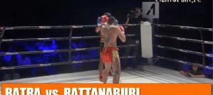 Bartosz Batra vs Panrit Rattanaburi na IV Kaliskiej Zawodowej Gali Federacji A1! Wideo!