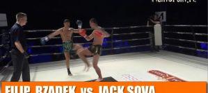 Filip Rządek vs Jack Sova na IV Kaliskiej Zawodowej Gali Federacji A1! Wideo!