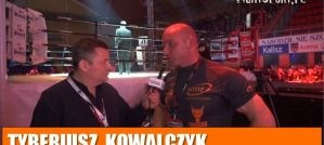 Tyberiusz Kowalczyk przed KSW 39: Nie idę tam by dostać w papę od Mariusza! Wywiad!