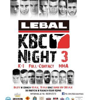 Gala Sportów Walki Lebal KBC Night 3 już w sobotę w Kępnie