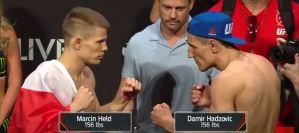 UFC Fight Night 109: Marcin Held i Damian Stasiak w limitach! Wyniki ważenia