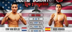 Erik Van Der Lee vs Hugo Aranda na Celtic Gladiator 13 w Los Angeles
