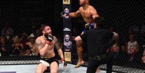 UFC Fight Night 112: Kevin Lee wygrywa po kontrowersyjnym poddaniu! Wyniki