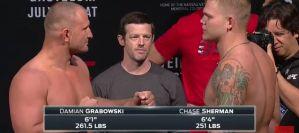 Klęska Damiana Grabowskiego na UFC on FOX 25