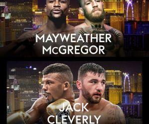 Znamy wszyskie walki z gali bokserskiej Floyd Mayweather Jr. vs Conor McGregor