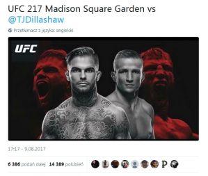 UFC 217: Cody Garbrandt ogłasza walkę z T.J. Dillashaw