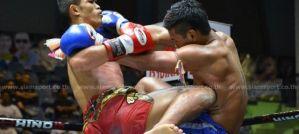 Lumpinee Boxing Stadium: Rambo nokautuje piłkarskim soccer kickiem! Wyniki & Video