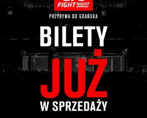Pierwszy trailer promujący UFC Gdańsk! Bilety już w sprzedaży!