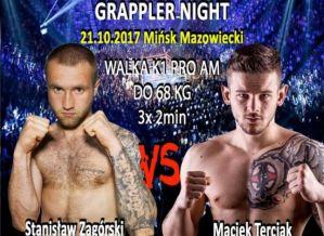 Kickboxing vs Karate na Grappler Night 5