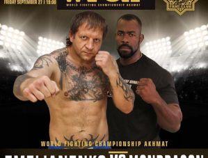 Aleksander Emelianenko vs Geronimo Dos Santos na WFCA 42 w Moskwie!