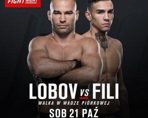 Artem Lobov vs Andre Fili na UFC Fight Night w Gdańsku