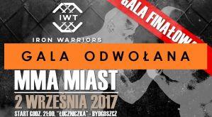 Odwołana gala finałowa Iron Warriors Team 3 we wrześniu