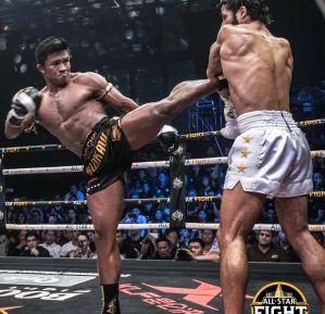 Buakaw Banchamek nokautuje Azize Hlali na All Stars Fight! Video