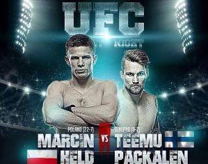 Marcin Held vs Teemu Packalen na UFC Fight Night 118 w Gdańsku