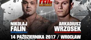 Arkadiusz Wrzosek vs Nikolaj Falin w walce o pas na FEN 19