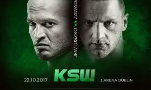 David Zawada będzie rywalem Macieja Jewtuszko na KSW 40 w Dublinie