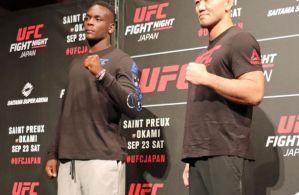 UFC Fight Night 117: tylko Mizuto Hirota bez limitu! Wyniki ważenia