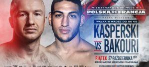 Dawid Kasperski vs Boubaker El Bakouri w walce wieczoru DSF Kickboxing Challenge 11