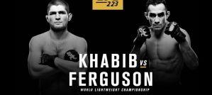 Khabib ''The Eagle'' Nurmagomedov vs. Tony ''El Cucuy'' Ferguson na UFC 223!